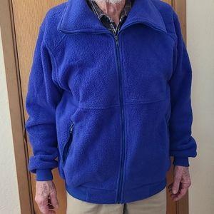 REI Mens Heavy Weight Fleece Jacket Size Large
